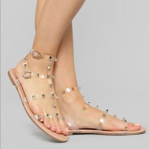 FN Studded sandals